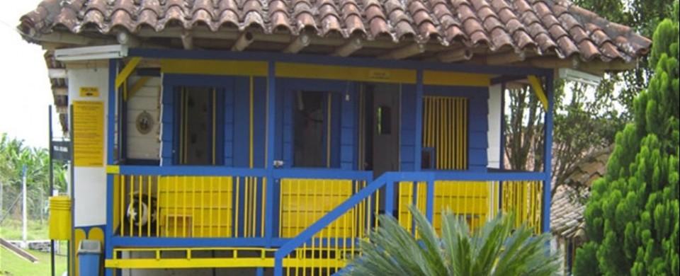 Casa de las munecas. Fuente: fincavillajuliana.com