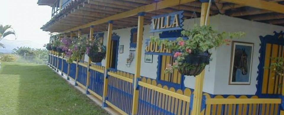 Entrada de Villa Juliana. Fuente: fincavillajuliana.com